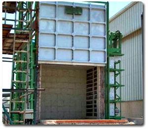 Medium temperature trolley resistance furnace