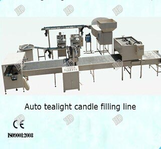 Candle Equipment Filling Line