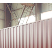 Red 40Ft Refrigerating Warehouse Container