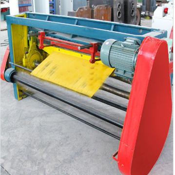 Steel drum production machine: Cutting machine