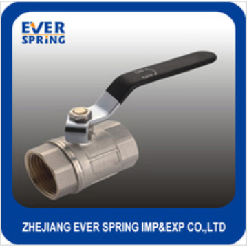Lever handle female forged brass ball valve