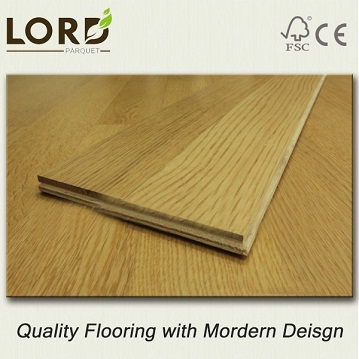 2-layer Oak Engineered Strip  Flooring