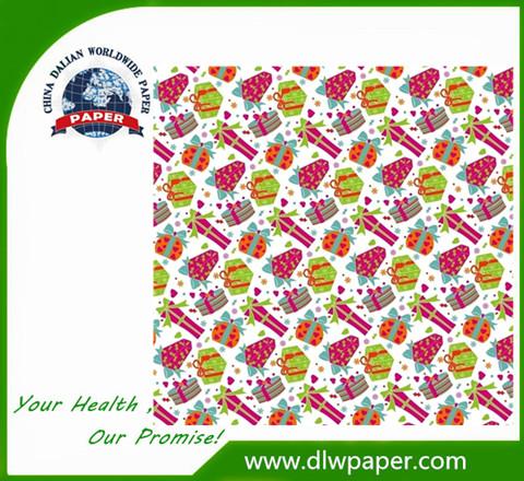 Gift Box Logo imprint Tissue Paper