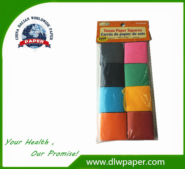 Small Size Crepe Paper for Children Manual Training
