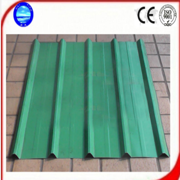 Colored Sheet Steel Corrugated Glazed Roof Tiles