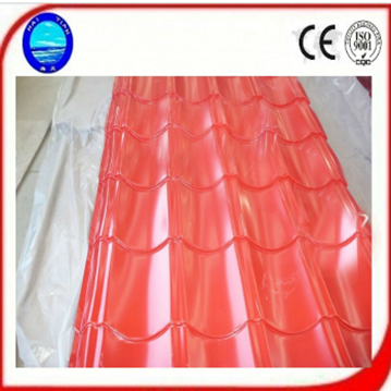 HT Colored Roof Flat Steel Sheet