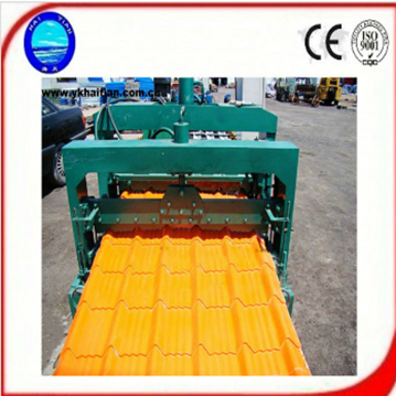 Color Steel Sheet Glazed Roof Tile Machine