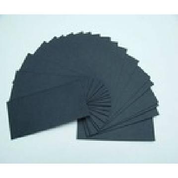 Black paperboard/black paper cardboard