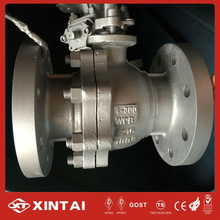 ANSI flange floating ball valve
