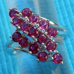 wedding anniversary ring unique design