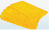 block of glass wool