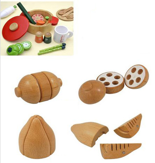 Hot sale cooking set popular pink wooden kitchen toys wooden play kitchen toy