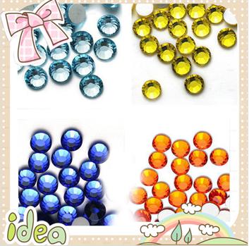 Crystals stone/rhinesthones/loose diamonds for nail art diamond