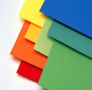 Uncoated colored paperboard