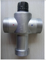 304 stainless steel 2 thermostatic mixing valve for solar heater