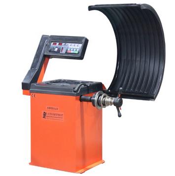 Semiautomatic LED Wheel Balancer (SWBA24 CE)