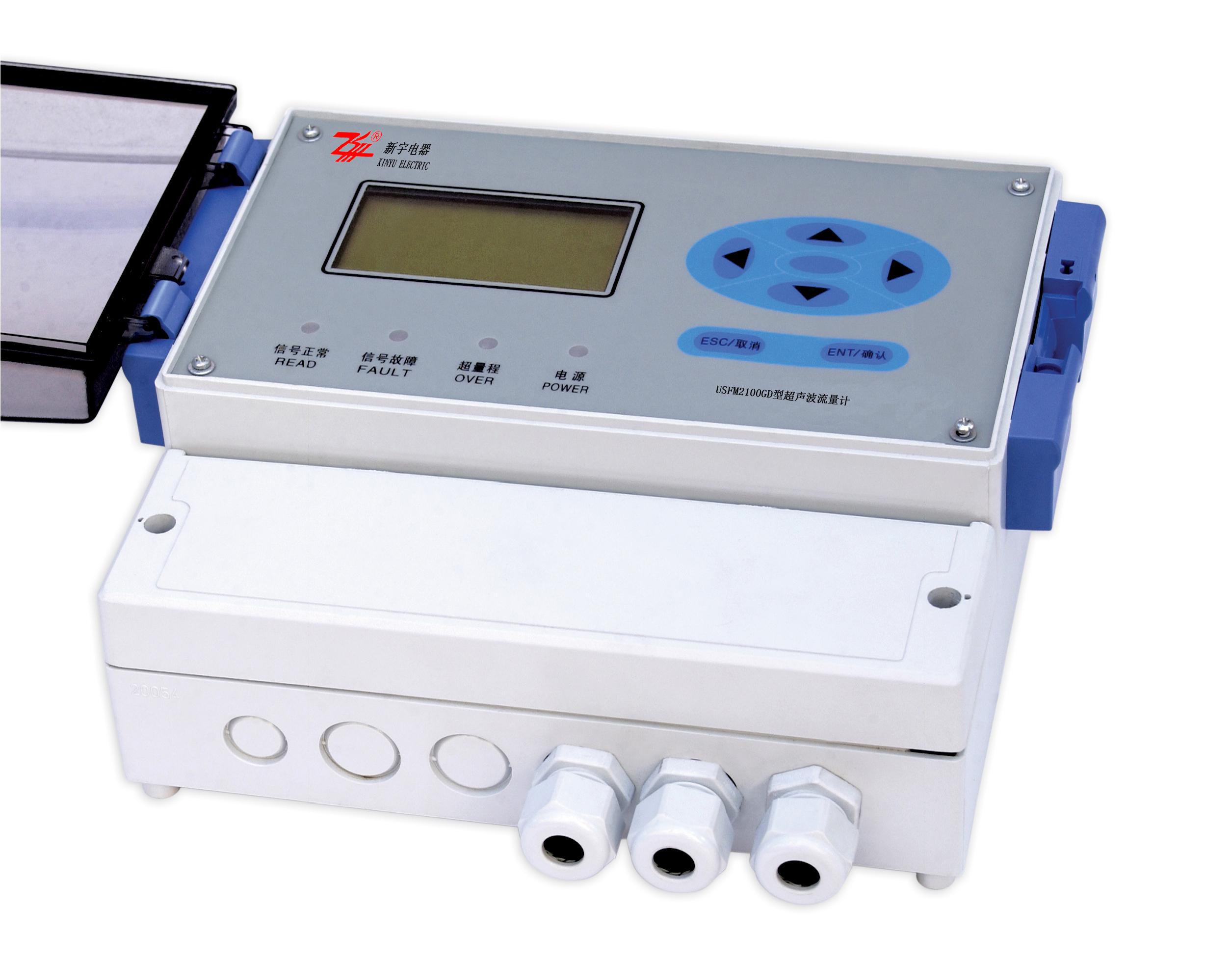 Type USFM2100GD doppler type ultrasonic flowmeter