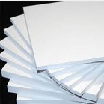 White Plastic board