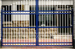 top quality zinc steel  gate