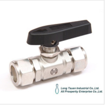 Series 27 Model MP-27 Taiwan high performance lok tube connection panel mounting stainless steel mini instrumentation ball valve