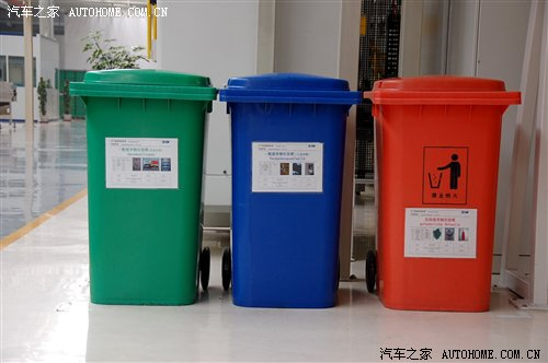 Plastic dustbin with EN840 Certificate