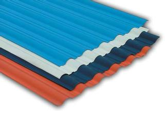 Color steel plate product