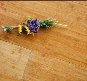 12mm Matt Gloss Valinge Click Carbonized Solid Bamboo Floor
