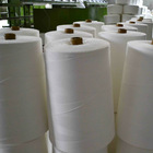 white polyester cotton thread supplier