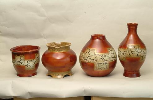 Wooden Vase Craft/ Handicraft