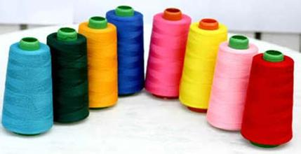 800m coloreful hot sale 100 percent spun polyester thread