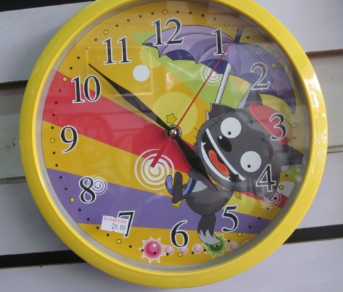 Round Wall Clock Cheap Wall Clock Special Dial Design