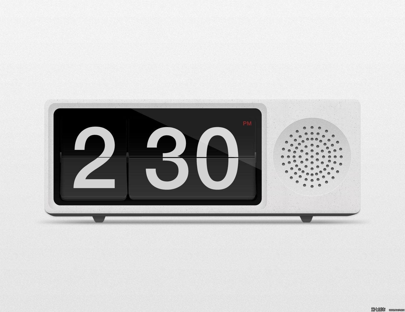 digital clock with alarm date temperature