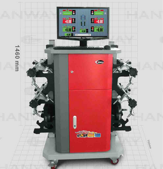 Vehile Wheel Aligner with CE Approved, Wheel Alignment Machine, Auto Maintenance Equipment (HWA-T88)