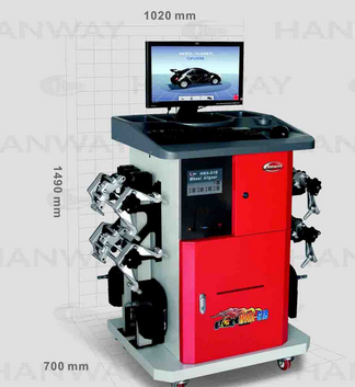 3D Camera Car Wheel Aligment, Wheel Aligner, Wheel Alignment Equipment (HWA-G18)