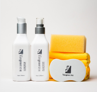 Hanor leather care kit for sofa