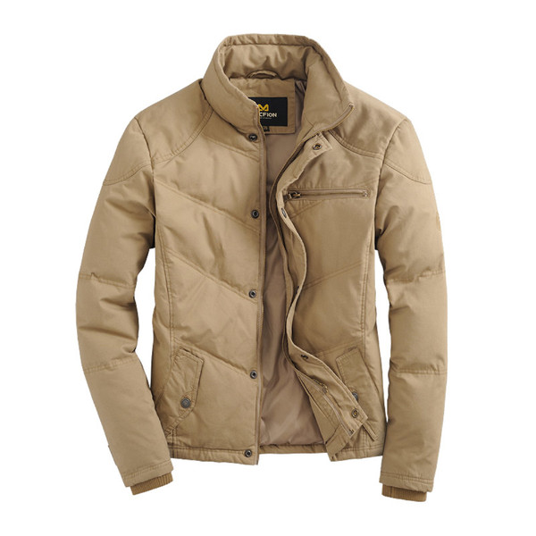 OEM latest fashion winter men cotton padded jacket/men jacket