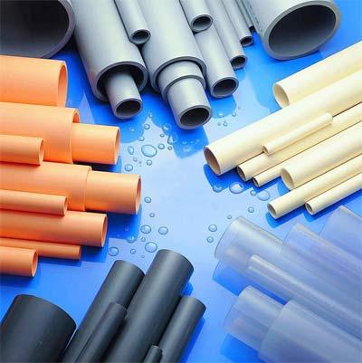Full Size PVC Plastic Pipe
