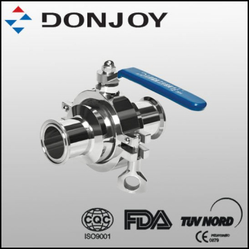 Manual Non-retention ball valve