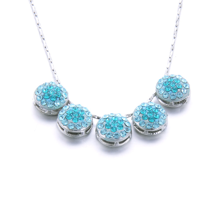 2015 Silver Color Stainless Steel Necklace