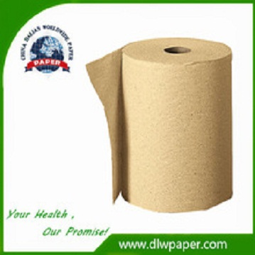 Blown Color toilet tissue Paper,Made of unbleached pulp,Hospital Use With Perforated,better water-absorbing,