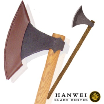 Hanwei XUG1072N Viking Axe Antiqued martial arts practical high quality decorated Viking axe current stock factory supply