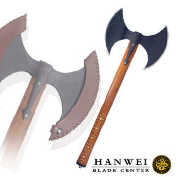 Hanwei XUG1074 Hero's Axe martial arts practical high quality decorated Viking axe current stock factory supply