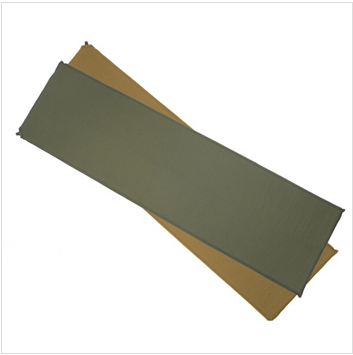 Extra light and comfort military self inflating mats