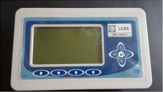 LCD industrial operator panel