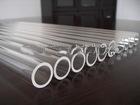 Hot sale high temperature clear quartz glass tube