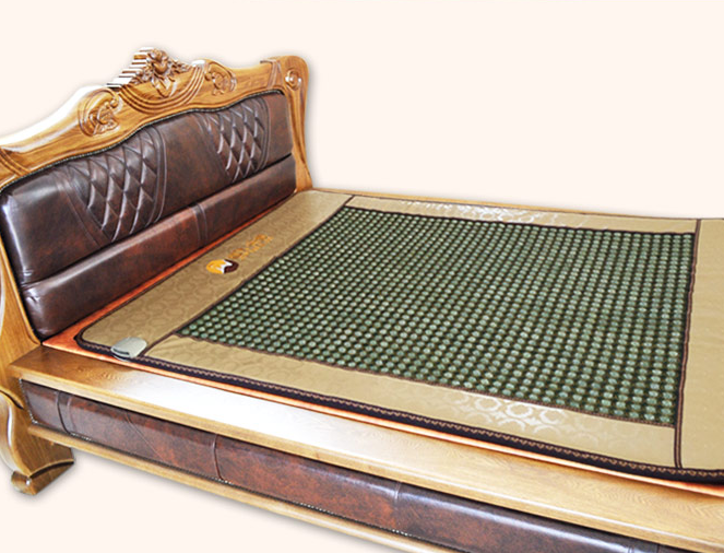 massage heating jade mattress, net surface