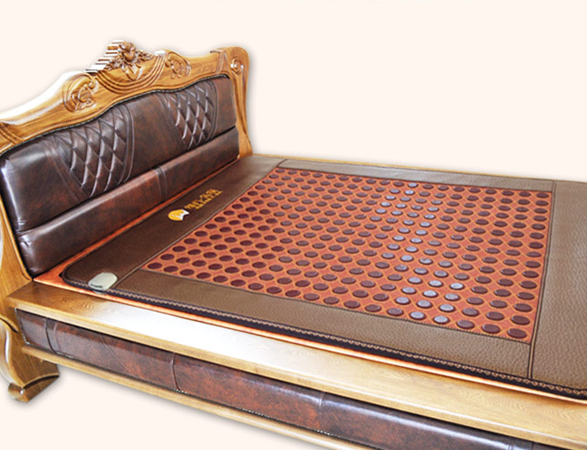 Jade heating mattress, far-infrared heating mattress, net surface