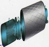 Conveyor lagging pulley