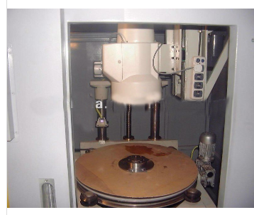 Brake flange testing equipment