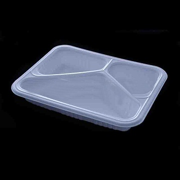 Multi-Layer Co-Extruded High oxygen barrier disposable plastic retort food containers